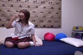 素人娘とハメ撮り♡パコリ映像⸝⸝⸝˘◡˘ デカパイになちゃん18歳