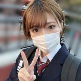【顔出し】県立女子校③ボーイッシュな美少女。~卒業~