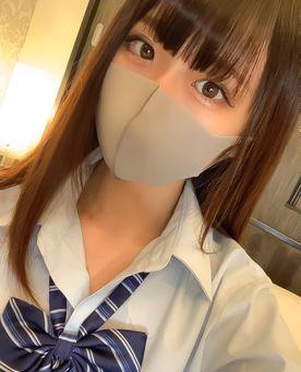 【初撮り】18歳現役女子◯学生、超スレンダー美少女りかちゃん!